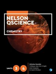 Nelson QScience Chemistry Units 3 & 4 Student Book with 4 Access Codes