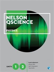 Nelson QScience Physics Units 1 & 2 Student Book with 4 Access Codes