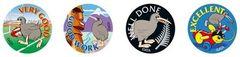 Stickers Nz - Kiwi Fun - Pk 96 NZ201