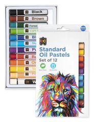 Ec Oil Pastels Standard Pk 12