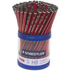 Lead Pencil Hb Cup 100 Staedtler Tradition 9310277115415