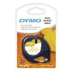 Label Tape Dymo Letra-Tag Cloth Labels 071701187710