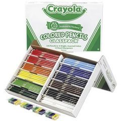 Colour Pencils Pk 240 Crayola [20 X 12 Colours] 2770000080613