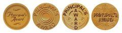 Stickers - Principals Award Gold Foil - Pk 72 PA145