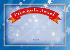 Certificates - Principal Banner  - Pk 200 PC332