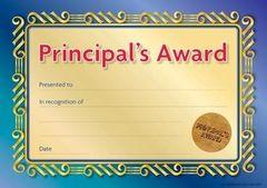 Certificates Card - Principal Formal Seal  - Pk 20 PC333C