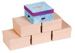 Papier Mache Square Boxes 6PK 2770000029391