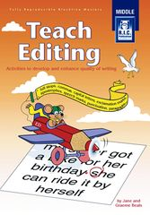 Teach Editing Middle Ages 8 - 10 9781864002560