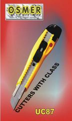 Cutter Wide Blade Osmer Heavy Duty With Slide Lock  & Saftey Metal Insert *Each* 9313023001673
