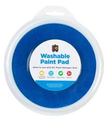 Paint Stamper Pad Blue 15cm Diameter 9314289015565
