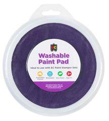 Paint Stamper Pad Purple 15cm Diameter 9314289015534