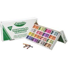 Crayola  Triangular Crayons 265 Classpack 0071662980399