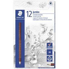 Lead Pencil Jumbo Triangular Hb Pk 12 Staedtler 4007817134474