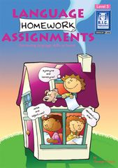 Language Homework Assignments Level 5 Ages 9 - 10 9781863115506