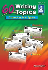60 Writing Topics Ages 8 - 10 9781863118125