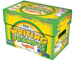 Writing Prompts Box 1 Ages 5 - 7 9781922116871