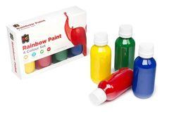 Rainbow Paint - Set of 4 x 100ml 9314289011253