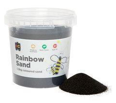 Rainbow Sand 1.3kg Black 9314289021030