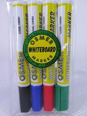 Marker Whiteboard Bullet Pk 4 Osmer 9313023519017