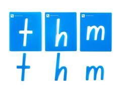 Stencil Alphabet Lower Case Pkt 26 NSW & ACT  9314289011529