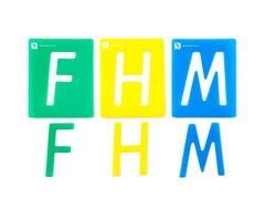 Stencil Alphabet Upper Case Pkt 26 9314289010638