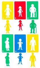 Stencil Family Members Set 6 9314289023928
