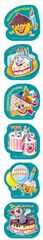 Stickers Scented Shapes - Birthday - Pk 72 SS1022