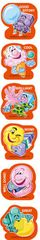 Stickers Scented Shapes - Bubblegum - Pk 72 SS1025