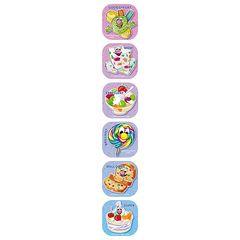 Stickers Scented Shapes - Tutti Frutti - Pk 72 SS1027
