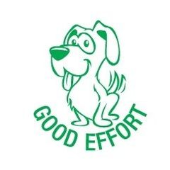 Stamp - Good Effort Dog ST1207