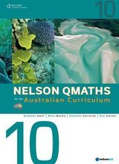 Nelson QMaths for the Australian Curriculum student book Year 10