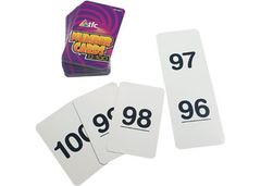 Flash Cards Pack of 101 6 x 9cm Number 0-100 9337138100236