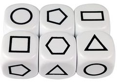 Dice 6 Face 22mm Attribute Shapes Ea 2770000789714