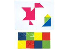 Tangram Kit 28 Pce Magnetic (4 x 7 Piece Sets) 9337138104968
