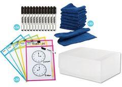 Swap Write n Wipe Pack of 30 Sleeves + Pens + Wipers 2770000066402