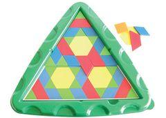 Pattern Blocks Tray Triangular 2770000075022