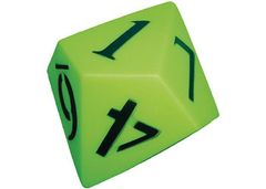 Dice 10 Face 120mm Number Pvc 9337138109338