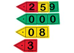 Decimal Place Value Arrow Set 30 Pce 9337138111492