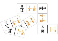 Dominoes Fractions Subtraction Set 28 Pce 9337138115032