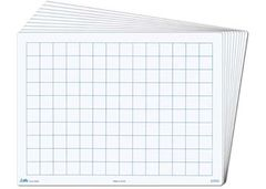 Student Whiteboard 2cm Grid Write n Wipe Each 2770000743570