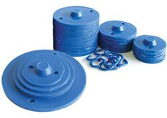 Weights Set of 40 Plastic Stacking  2770000076197