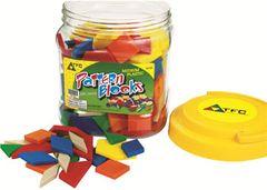 Pattern Blocks Med Plastic 250 Pce 9337138301008