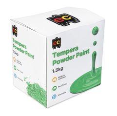 Tempera Powder Paint 1.5kg Brilliant Green 9314289005528