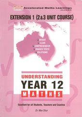 Understanding Year 12 Extension 1 Hsc Maths 9781875462131