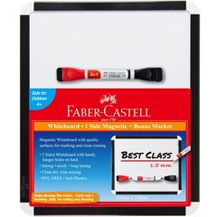 MAGNETIC WHITEBOARD WITH MARKER FABER 9311279100447