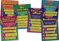 Charts - Comprehension Skills Primary - Set Of 12 A2  RIC7067