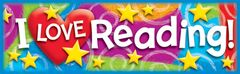Bookmarks - I Love Reading - Pk 36  T12070