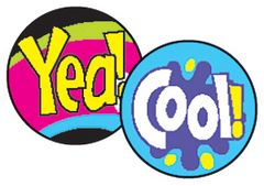 Stickers - Spot Cool Words - Pk 800  T46160