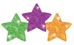 Stickers - Super Stars Sparkle - Pk 160  T46306