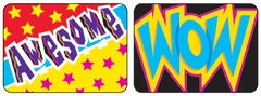 Stickers - Wow Words - Pk 100  T47127
